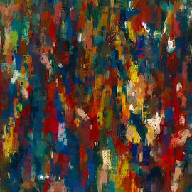 Colorful Crowd Abstract by Western Exposure