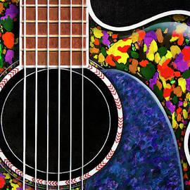 Colorful Guitar by John Salozzo