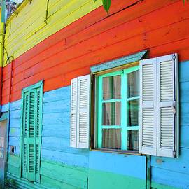 Colorful House, Buenos Aires, Argentina 2005 by Michael Chiabaudo
