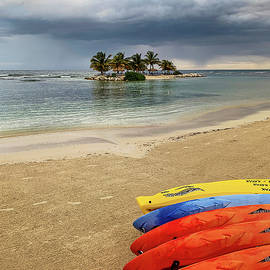 Colorful Kayaks  by Jill Love