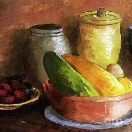 Colorful Kitchen Stuff by Lois Bryan