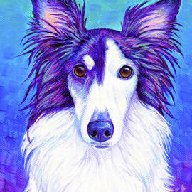 Colorful Silken Windhound by Rebecca Wang