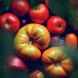 Colorful tomatoes by Ivan Mikhaylov