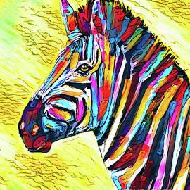 Colorful Zebra by Tina LeCour