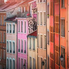 Vibrant Colors of Old Lyon France  by Carol Japp