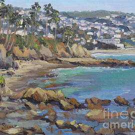 Colors Of Laguna by Kristen Olson Stone