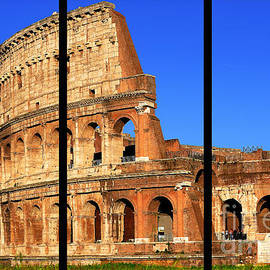 Colosseum Colors Triptych by Stefano Senise
