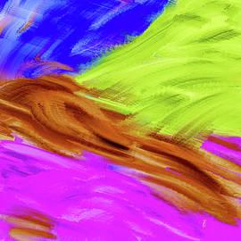 Colour landscape #k6 by Leif Sohlman