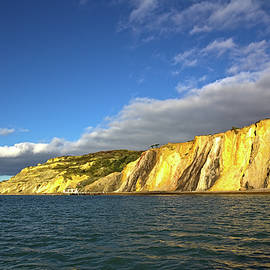 Coloured Sands at the Needles by Jeremy Hayden