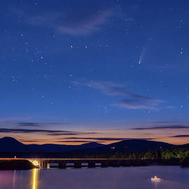 Comet Neowise Catskills NY by Susan Candelario