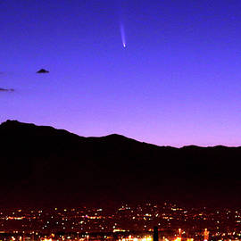 Comet Neowise Rising Over Tucson by Douglas Taylor