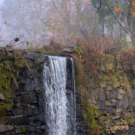 Company Mill Preserve Waterfall by Dianne Sherrill