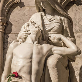 Compassion    Photo of Jesus and Mary Pieta Sculpture  by Nancy Jacobson