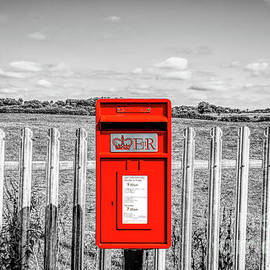 Composite of an English mini post box by Pics By Tony