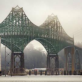 Conde B. McCullough Memorial Bridge, Coos Bay, Oregon by David Sams