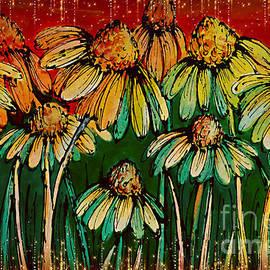 Coneflower Art. by Trudee Hunter