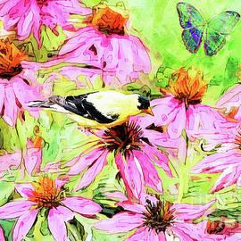 Coneflower Paradise by Tina LeCour