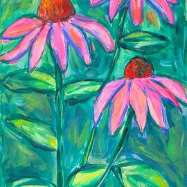 Coneflower Trio by Kendall Kessler