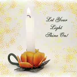 Congratulations Candle by Kae Cheatham