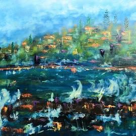 Convent Beach Yamba NSW by Margaret Morgan
