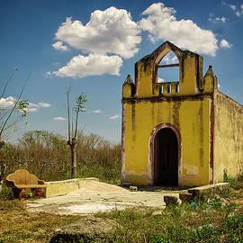 Convento de Francisco Kikil Mexico by Richard Smith