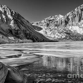 Convict Lake Morning - Winter by Sandra Bronstein