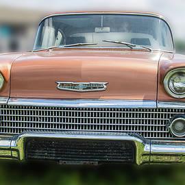 Coppertone 1958 Chevy -Antique Car by Bob Decker