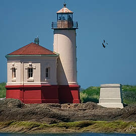 Coquille River Lighthouse by Diane Schuster
