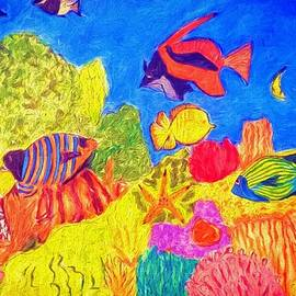Coral Life by Aurelia Schanzenbacher