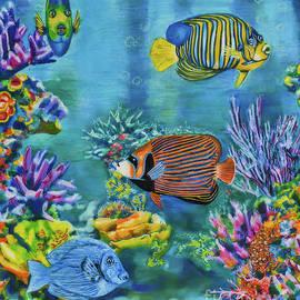 Coral Reef by Olga Hamilton