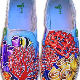 Coral Reefer Sanuks by Adam Johnson