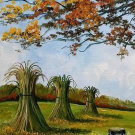 Corn Field by Lee Piper