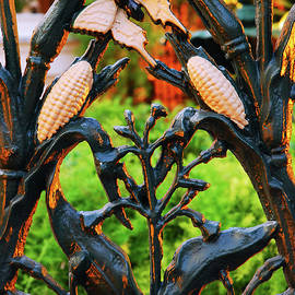 Corn Stalk Fence of New Orleans by James Kirkikis
