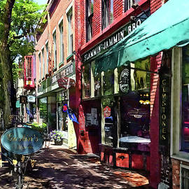 Corning NY - Along E Market Street by Susan Savad