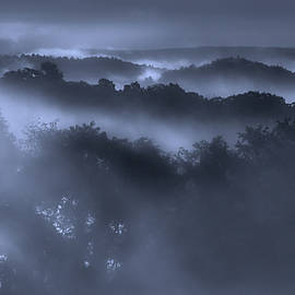 Cornwall Valley Fog by Bill Wakeley