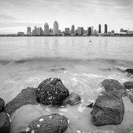 Coronado Island Rocks at Sunrise by William Dunigan