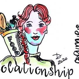 Coronageddon - Isolationship Grocery Shopping Games by Debora Lewis