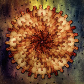 Coronavirus Model Abstract 4 by Mike Penney