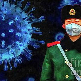 Coronavirus  by Yorgos Daskalakis