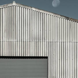 Corrugated Moon by Dave Bowman