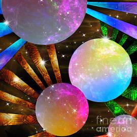 Cosmic Daisies by Diamante Lavendar