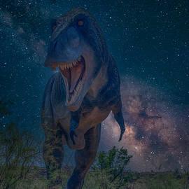 Cosmicsaurus Rex by Nathan McDaniel
