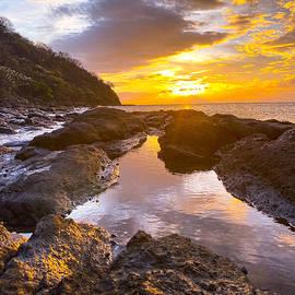 Costa Rica Sunset  by Joseph Rouse