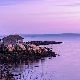 Cottage on the Rocks by Ralph Staples