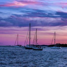 Cotton Candy Skies by Elizabeth Dow