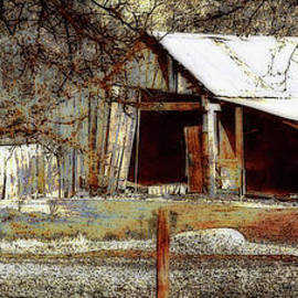 Country Barn by Debby Pueschel