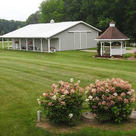Country Farm Yard by Barbara Ebeling