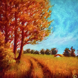 Country Road by Lilia Dalamangas