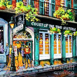 Court of the Two Sisters III by Dianne Parks