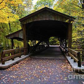 Covered Bridge Lanterman's Mill by Jane Tomlin